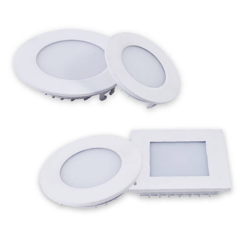 LED Direct Panel Light LED Direct Panle Light  P2030 3W 6W  12W 15W 18W
